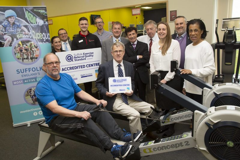 Brandon Leisure Centre awarded county-wide Exercise Referral Quality Standard