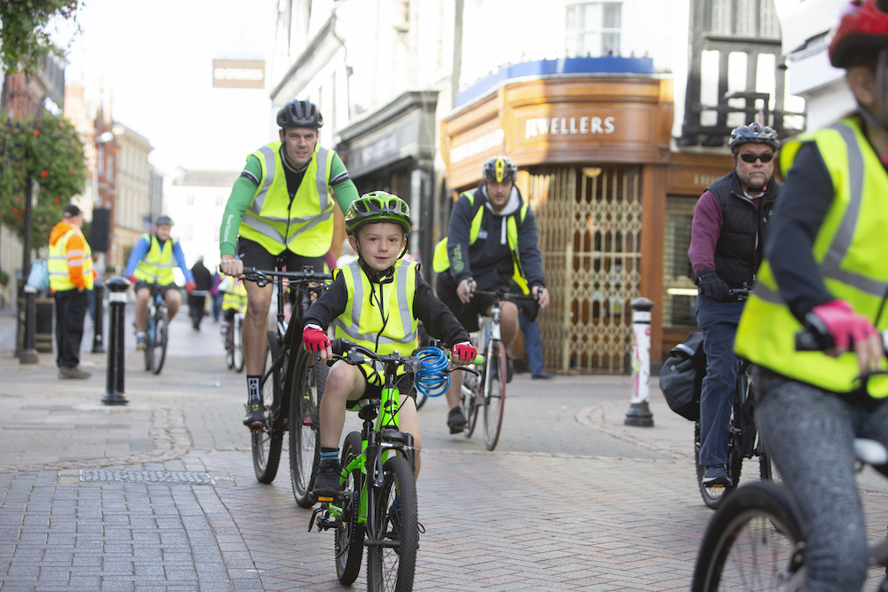 Registration opens for 'Bury Goes Biking' spectacular
