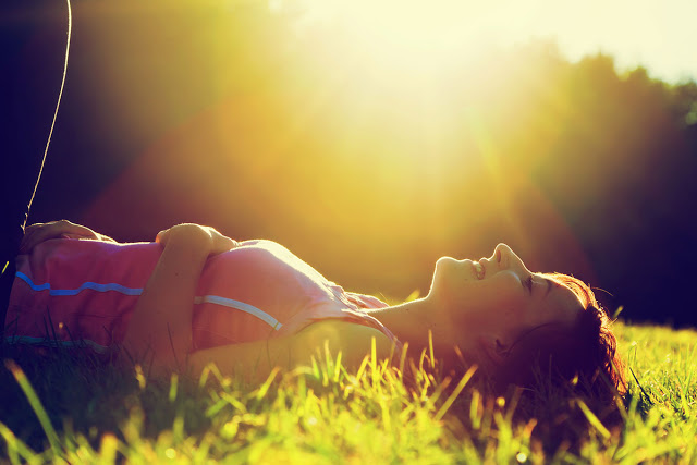 The sun is shining so stock up on vitamin D