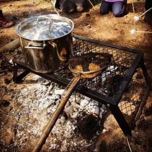 OUTDOOR PAN AND GRILL