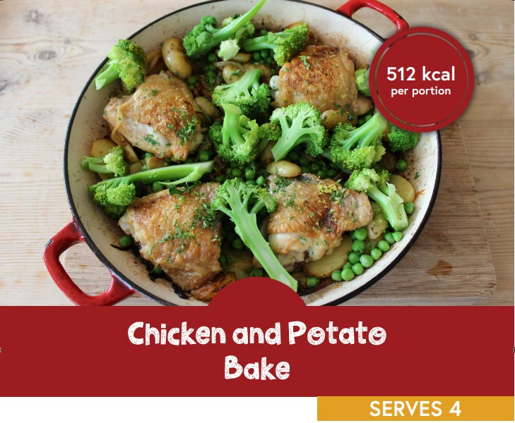 Chicken and potato bake