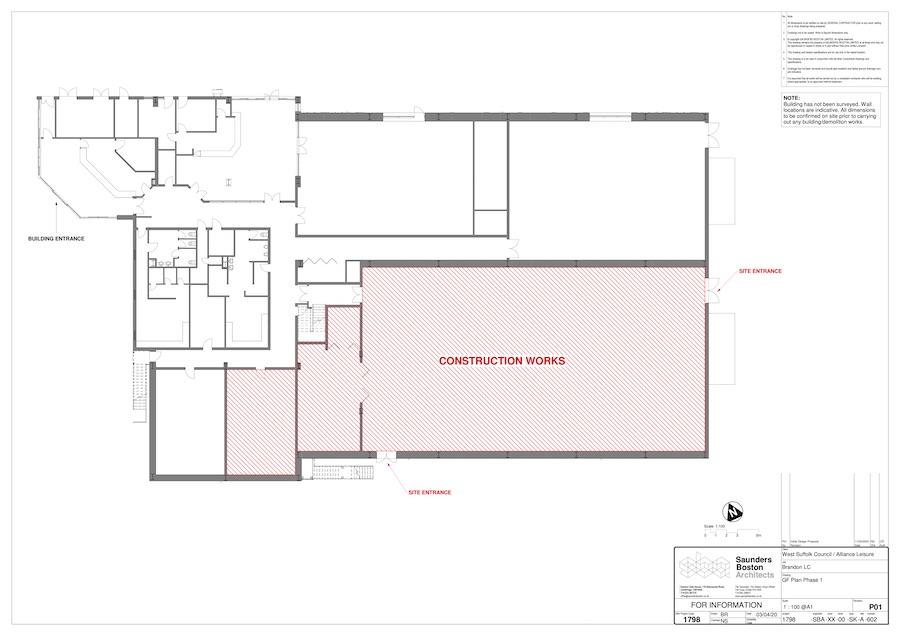 Work gets underway on £1.97m Brandon Leisure Centre upgrade