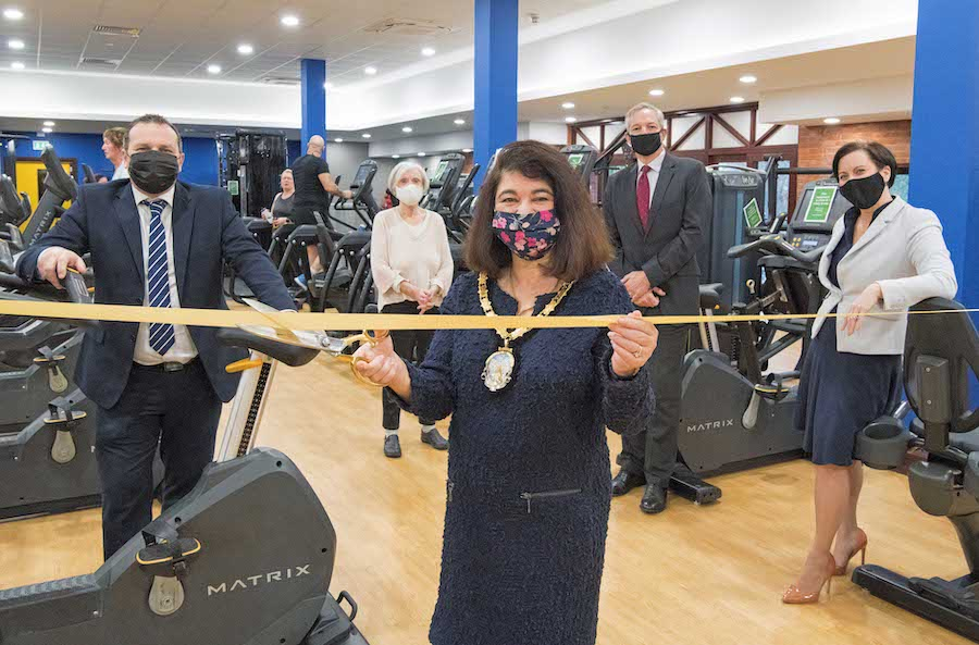 Leisure Centre throws opens its doors after £2.4M refurbishment
