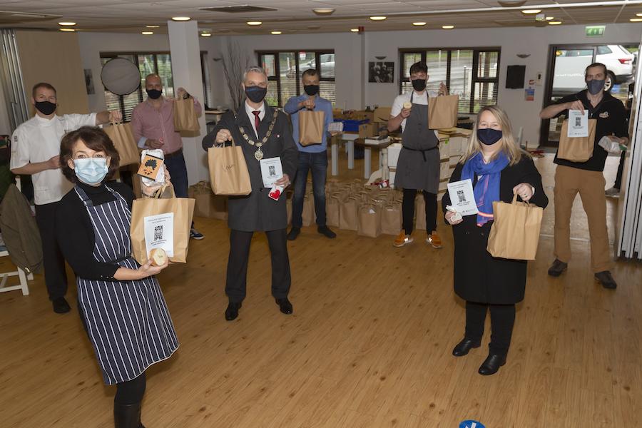 Festive Food initiative in West Suffolk
