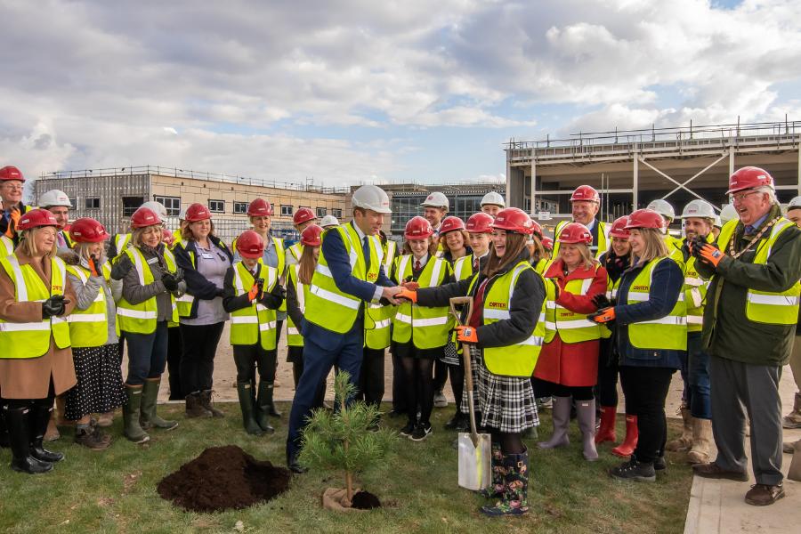 Construction to resume on Mildenhall Hub