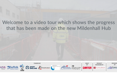 See how the Mildenhall Hub is progressing from the comfort of your home