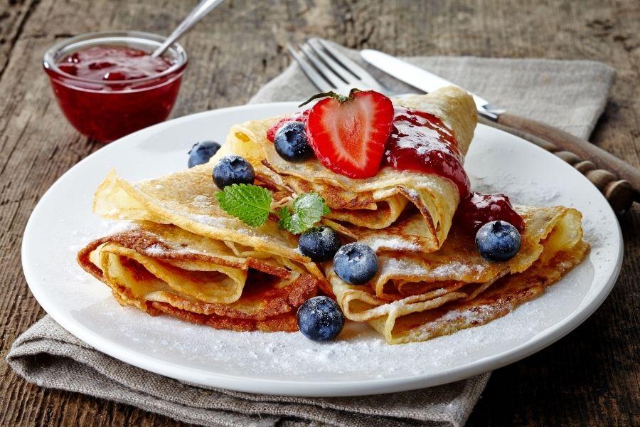 Healthy pancake alternative