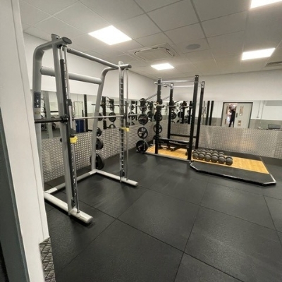 Weights area in Gym