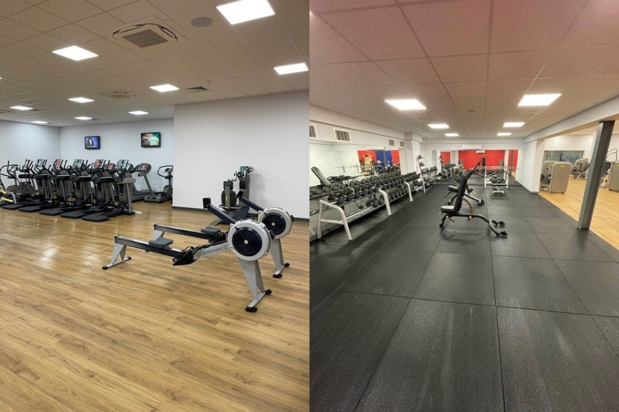 Brandon Leisure Centre new gym