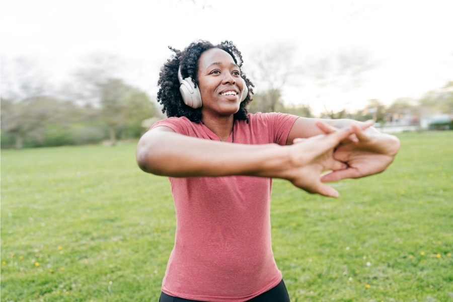 The benefits of exercising outdoors
