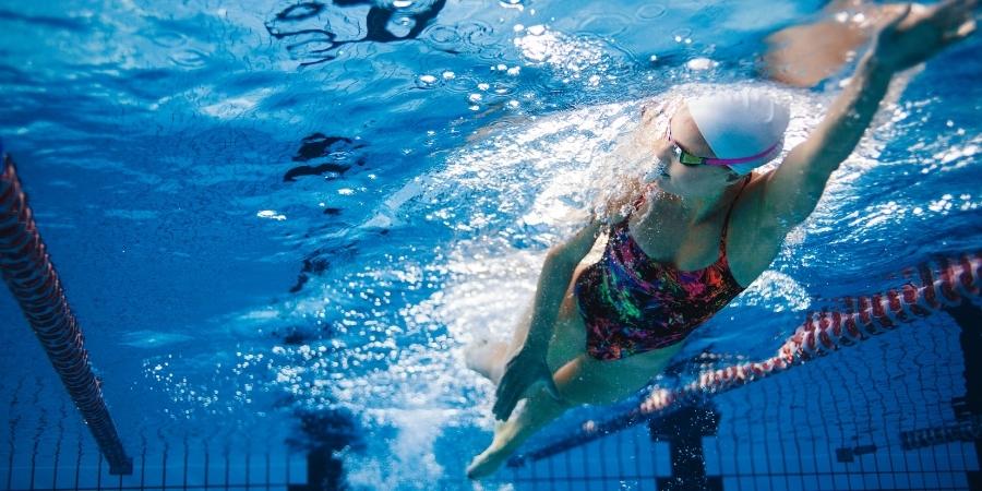 lady lane swimming