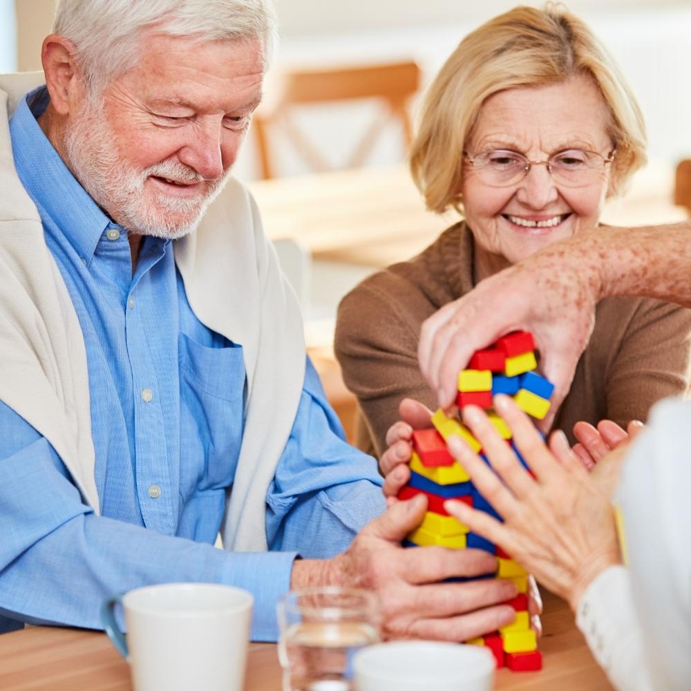 dementia group games