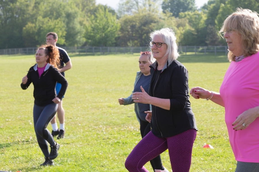 Move more outdoors participants