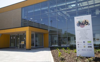 A new chapter as library welcomes first visitors to the Mildenhall Hub