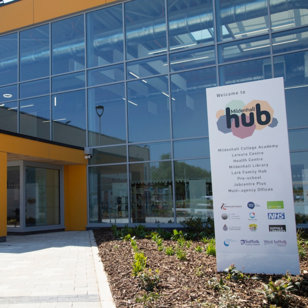 outside picture of The Hub