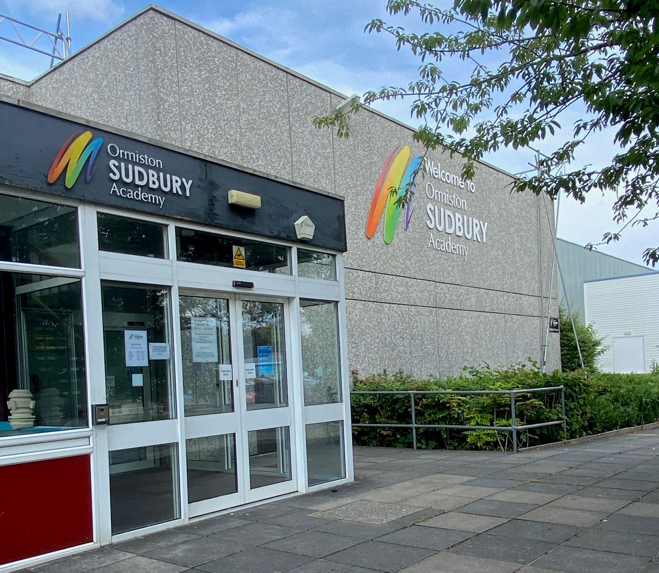 outside sudbury sports centre