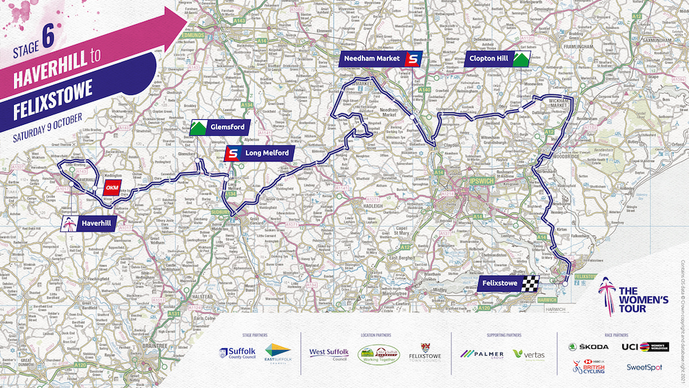 ROUTE MAP FOR STAGE 6