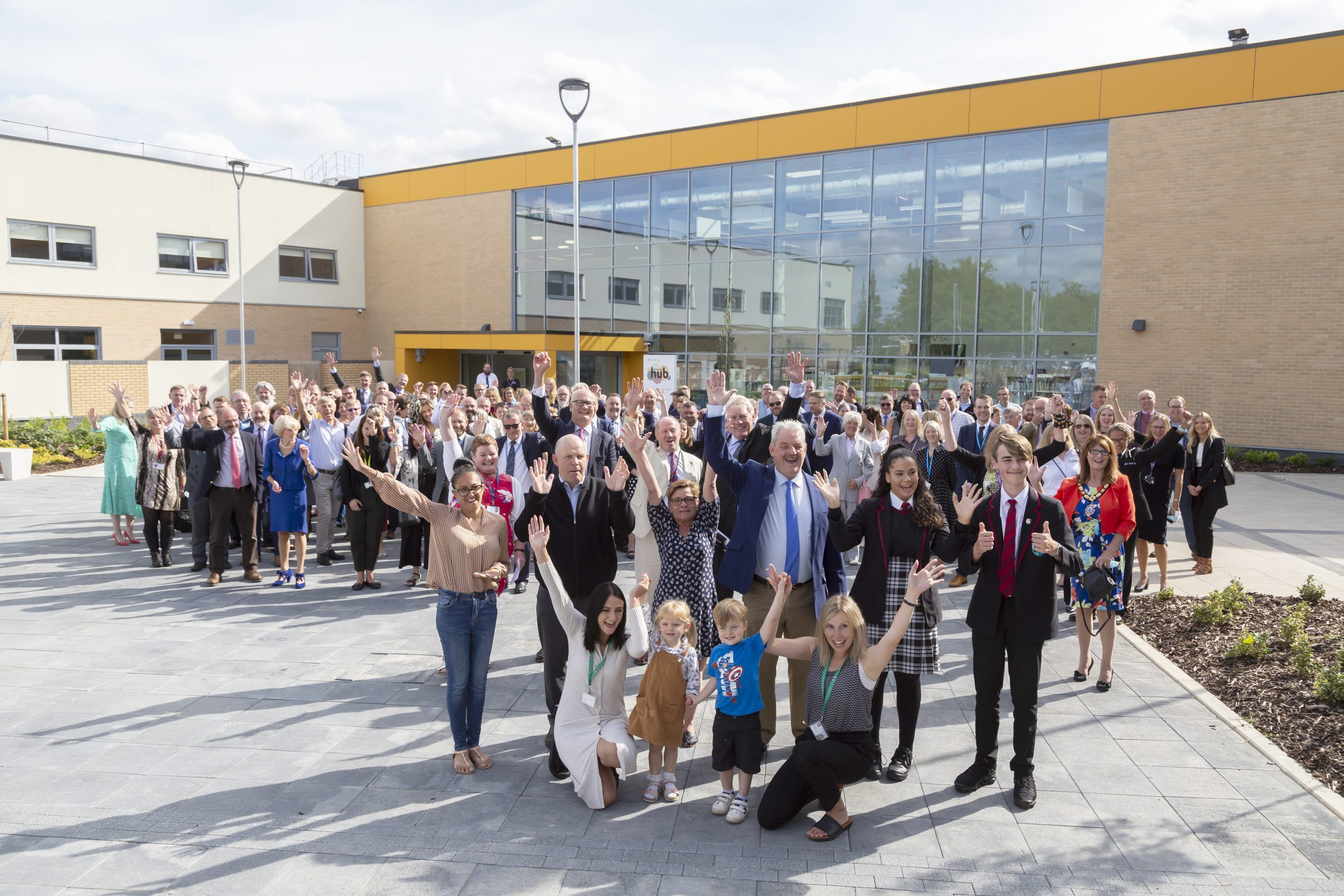 Mildenhall Hub official opening
