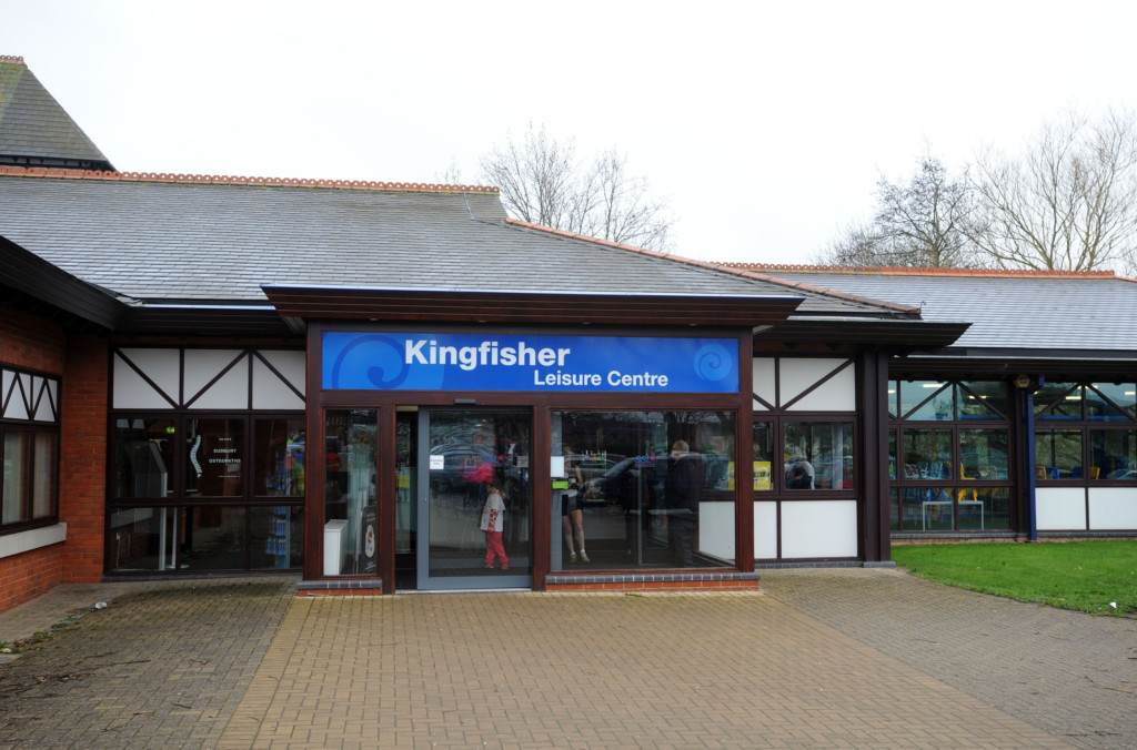 Front of Kingfisher Leisure Centre