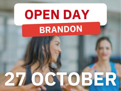 Brandon open day tile