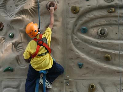 children's climbing wall